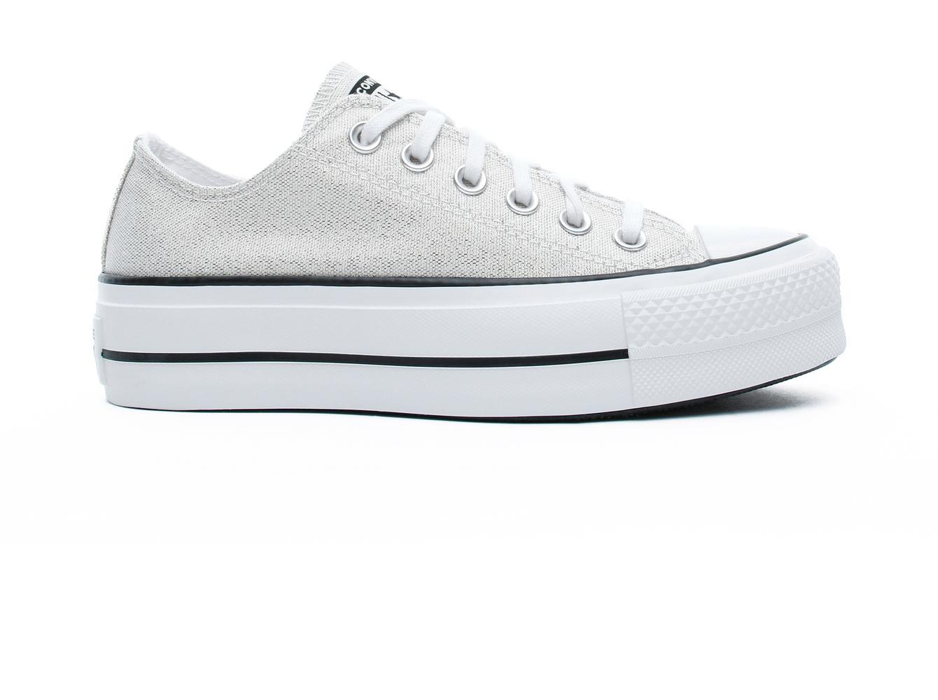 Chuck Taylor All Star Lift Ox Kadın Gri Sneaker