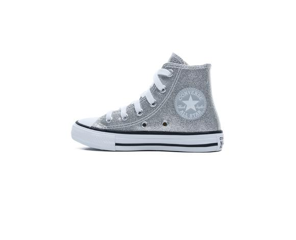 Chuck Taylor All Star Hi Çocuk Gri Sneaker