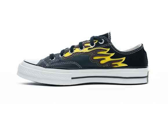 Chuck Taylor 70 Flames Ox Unisex Siyah Sneaker