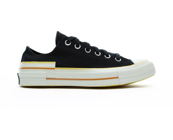 Chuck 70 Ox Kadın Siyah Sneaker