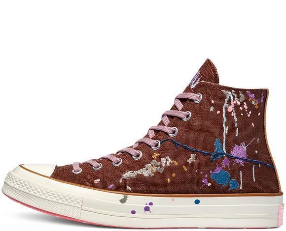 Chuck 70 Hi Unisex Kahverengi Sneaker
