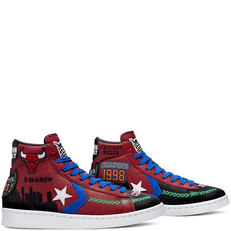 Pro Leather Hi Unisex Mor Sneaker