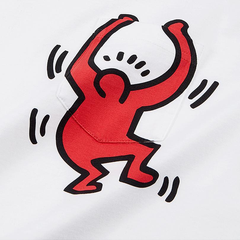 Converse x Keith Haring Graphic Pocket T-Shirt