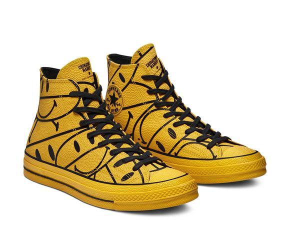 Chuck 70 Hi Unisex Sarı Sneaker