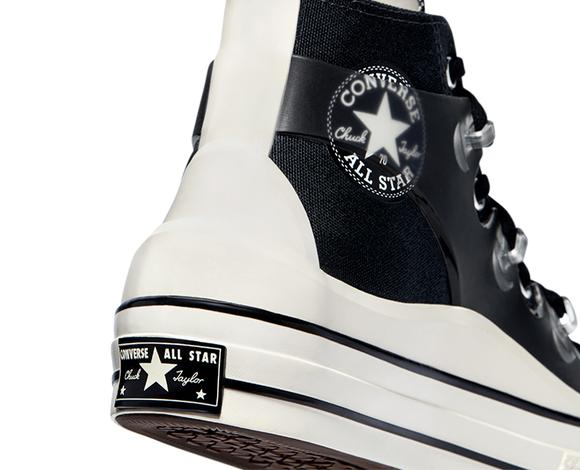 Chuck 70 Utility Wave Hi Unisex Siyah Sneaker