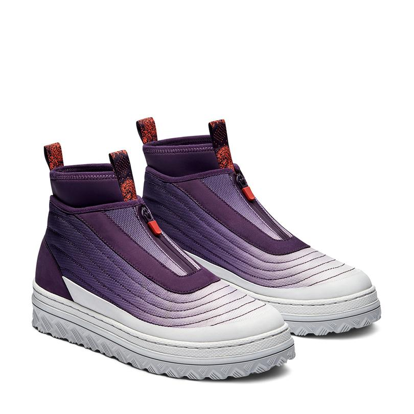 Pro Leather X2 Trek Hi Unisex Mor Sneaker