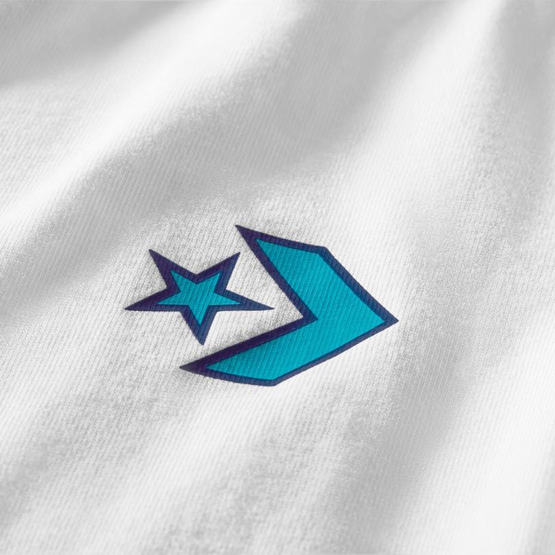 Converse Space Jam A New Legacy Kadın Beyaz T-Shirt