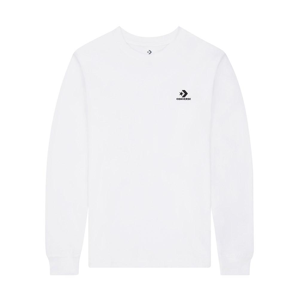 Converse Embroidered Star Chevron Erkek Beyaz T-Shirt