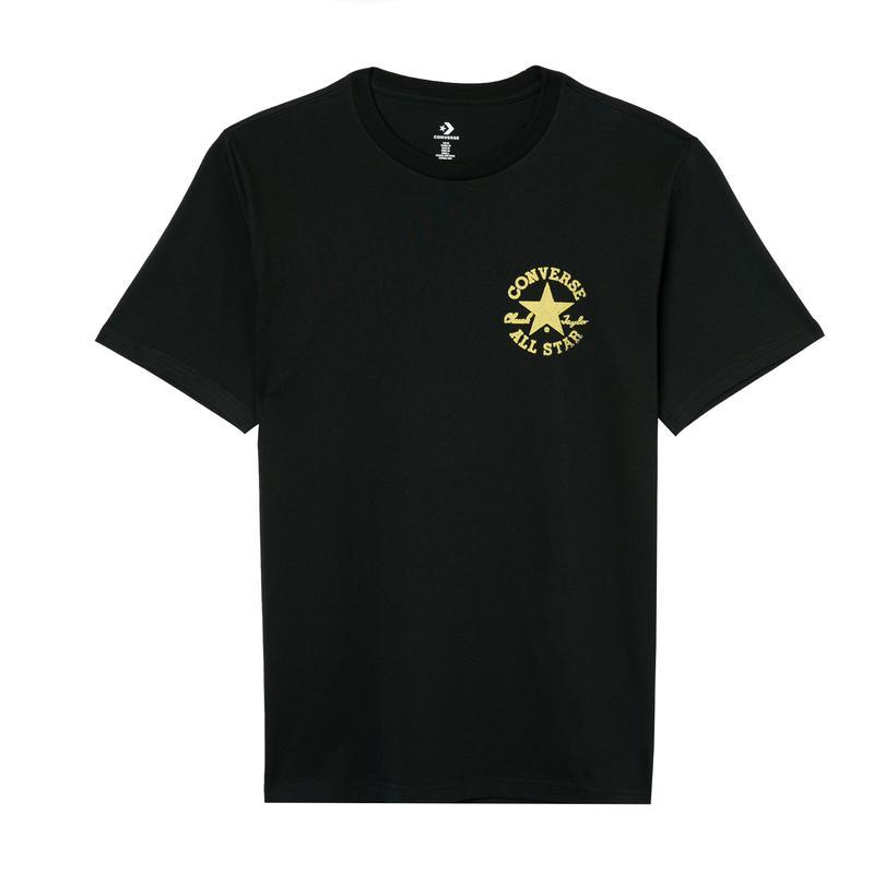 Converse Stamped Chuck Patch Erkek Siyah T-Shirt