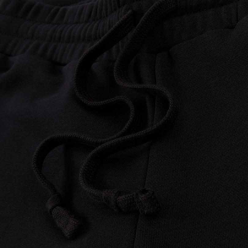 Converse Embroidered Star Chevron Kadın Siyah Eşofman Altı
