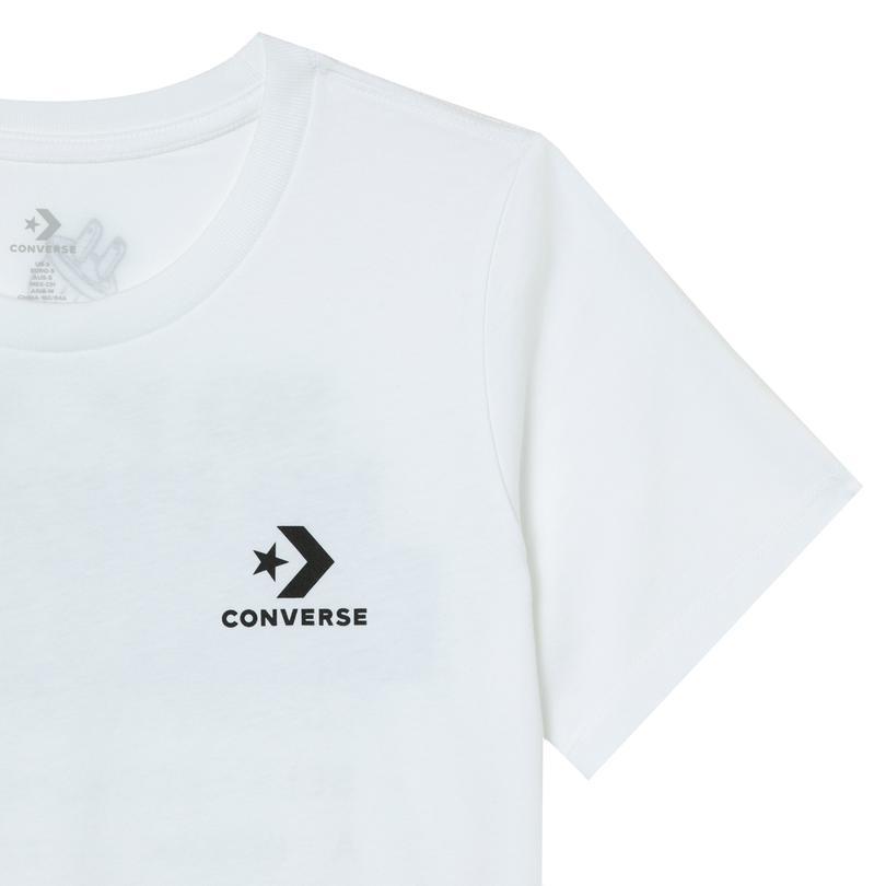 Converse No Problem Classic Kadın Beyaz T-Shirt