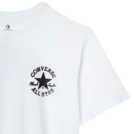 Stamped Chuck Patch Erkek Beyaz T-Shirt