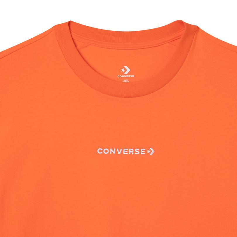 Converse Court Lifestyle Erkek Turuncu T-Shirt