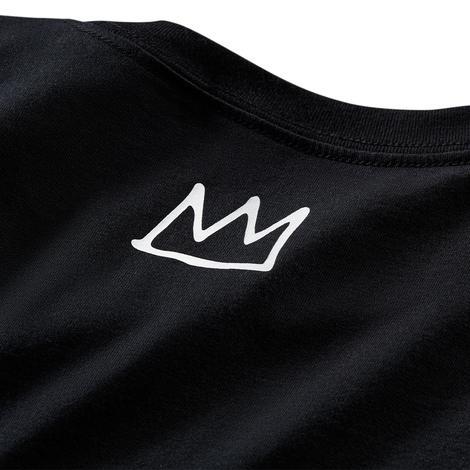 Basquiat Graphic Erkek Siyah T-Shirt