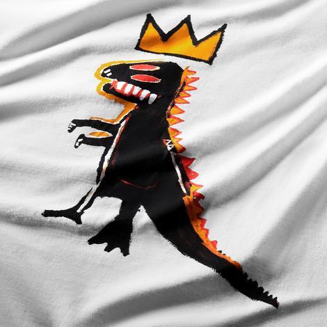 Converse Basquiat Graphic Erkek Beyaz T-Shirt
