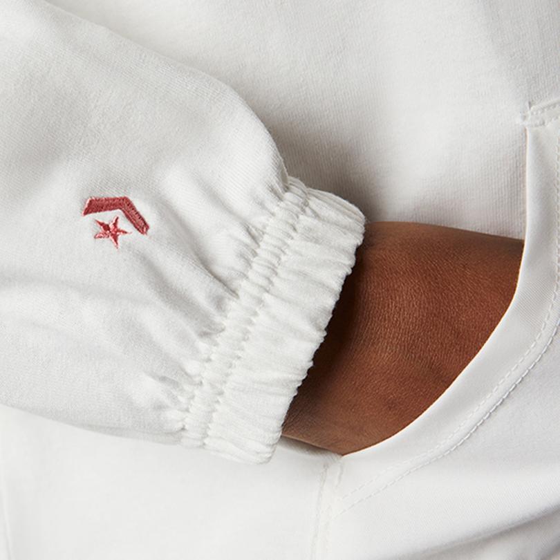 Converse Kadın Beyaz Sweatshirt