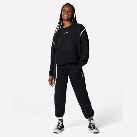 Converse Kadın Siyah Sweatshirt