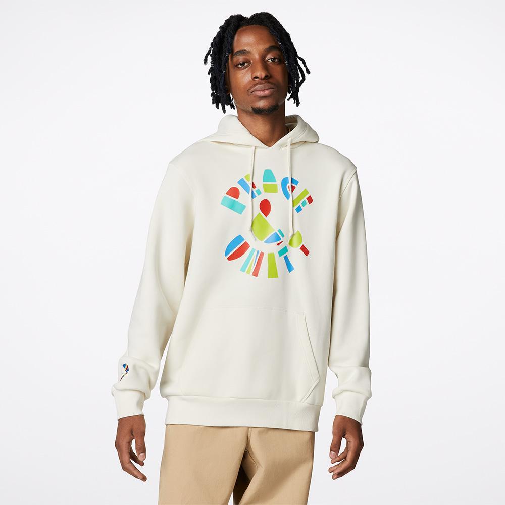 Peace And Unity Erkek Krem Sweatshirt