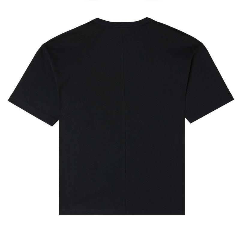 Chuck 70S Embroidered Kadın Siyah T-Shirt