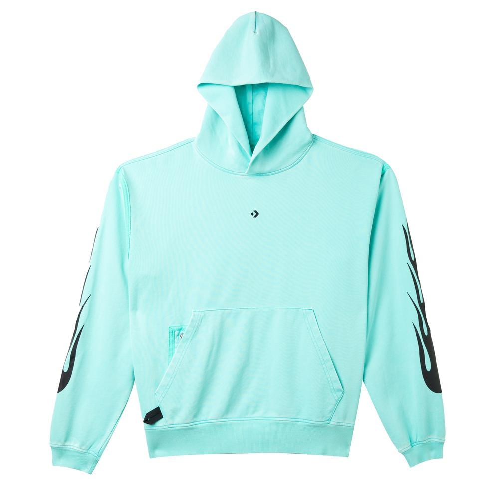 Court Ready Graphic Erkek Mavi Sweatshirt