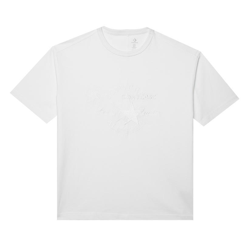 Converse Chuck 70S Embroidered Kadın Beyaz T-Shirt